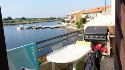 Photo for Housing T2 with superb view marine lake and Pyrenees