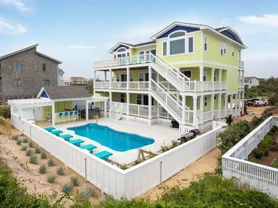 Photo for New Construction Oceanfront Beach Home in Duck! Available Starting June 2017