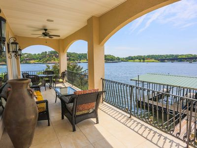 Photo for The Good Life - Luxurious 3 Story Lake Home! Amazing Views! Gated Community!