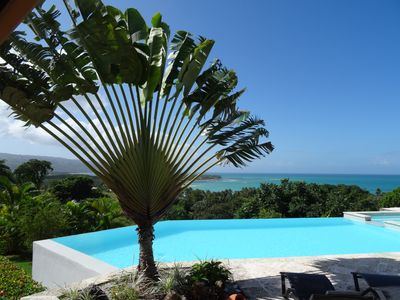 Photo for Unobstructed views of the heavenly beaches of Les Terrenas