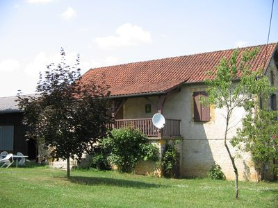 Photo for Private house, outbuildings, wooded park, between Quercy and Perigord Black