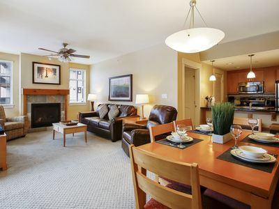 Photo for FREE Activities Daily & WiFi - Base Village Ski In/Out Luxury Condo #3425/Pool Sized Hot Tub