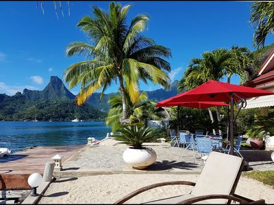 Photo for 4BR Villa Vacation Rental in Pao Pao, moorea