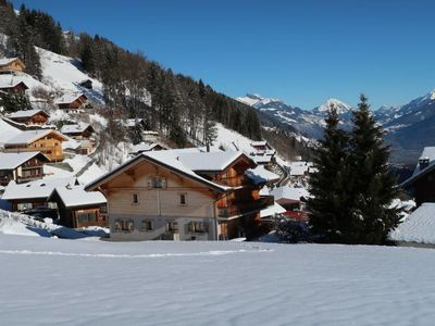 Photo for Vacation home Chalet Saint Joseph (VDZ150) in Val-d'Illiez - 20 persons, 8 bedrooms