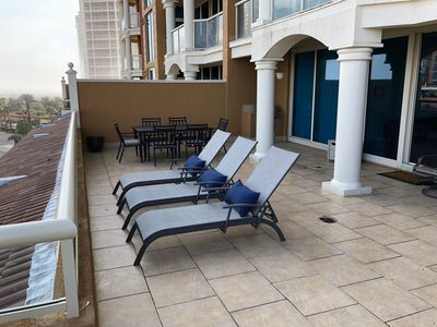 Photo for Unique HUGE TERRACE 2BR in Portofino w/2 Parking Spots, compare first!