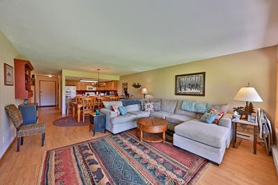 Large living area to spread out