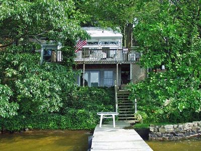 Photo for Charming Lakefront Bungalow with amazing views, 2BR/2BA