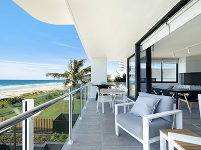 Photo for THE ONE @ PALM BEACH     LUXURY BEACHFRONT 4 BED APARTMENT