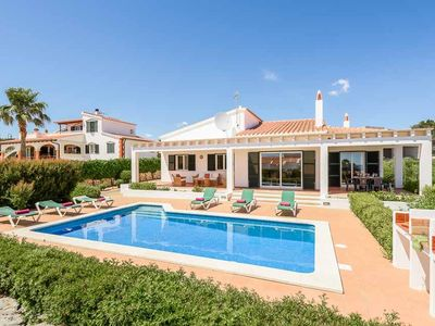 Photo for 3 bedroom Villa, sleeps 7 in Binissafuller with Pool, Air Con and WiFi