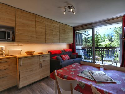 Photo for Accomodation in the heart of Serre Chevalier Valley 100 m from the slopes and all amenities. Renovated comfortable apartment fully equipped.