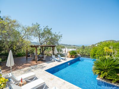 Photo for Luxury Ibiza Villa for 8 Sleeps (Possibility 10 people) - Private Pool