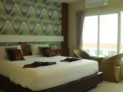 Photo for Air-conditioning room and big bed PhiPhi