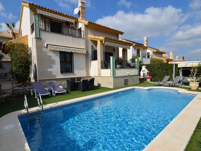 Photo for Great villa with Algorva with a view of the golf course