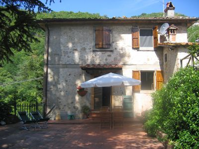 Photo for Cottage in the countryside, including chestnut and olive trees of the countryside of Lucca
