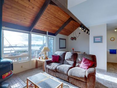 Photo for Bayfront condo with amazing views and shared hot tub, pool, sauna!