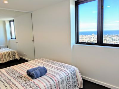 Photo for 25th Floor |  Spectacular View | SPA | Next to Crown Casino | Parking | WiFi