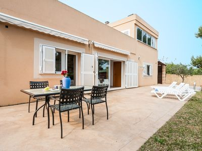 Photo for CAN VAUMA - Chalet with private garden in Port d'Alcúdia.