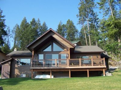 Photo for Ideal location on right on Flathead Lake!