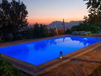 Photo for Stone House w/Private Pool, Great Views Across Valley To The Sea At Patara