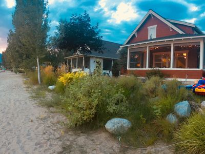 Photo for Waterfront Veranda Beach Cottage - 4 bedroom newly renovated!