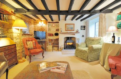 Photo for Pear Tree Cottage is a lovely, traditional Cotswold stone cottage, located in Bourton-on-the-Water