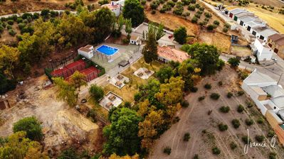 Photo for great garden beautiful views, paddle tennis court, swimming pool, nature, hiking