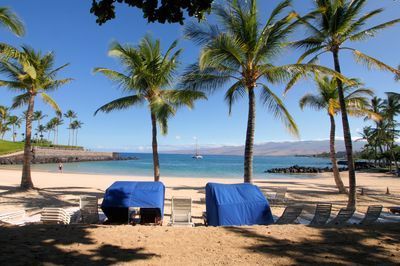 Private Mauna Lani Beach Club - access is provided with rental