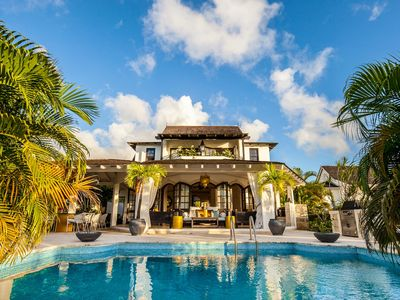 Photo for One of Barbados most exquisite, contemporary and luxurious golf front villas