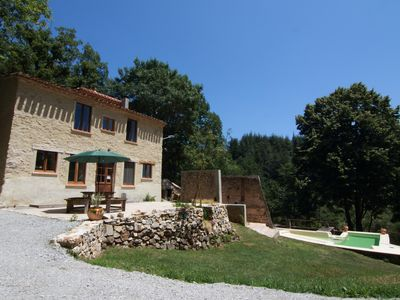 Photo for Cottage With pool, set in a private 5 hectare domaine, perfect for nature lovers