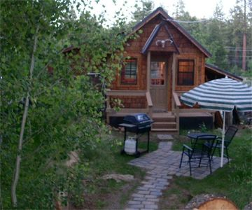 Photo for Romantic, Private Tahoe Cabin, Walk to Beach, Hi-Speed WiFi, Satellite TV