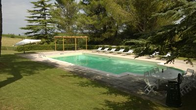 Photo for Villa degli Scoiattoli, 200-m² villa for 8-10 people with park and swimming pool