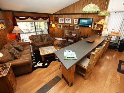 Photo for Gold Camp Condo on the Mountain! Cabin Vibe