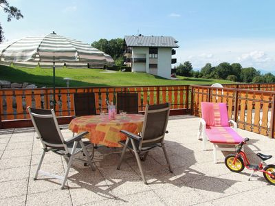 Photo for At 13km from EVIAN, between lake and mountain, 2 rooms, large terrace, wifi