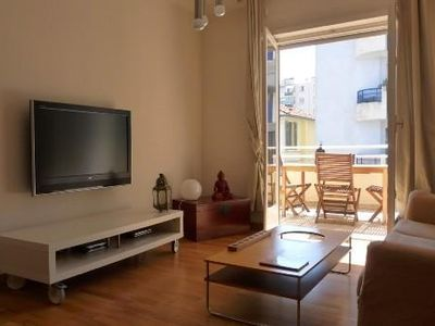Photo for Juan les Pins - Beautiful air-conditioned apartment of 80 m2
