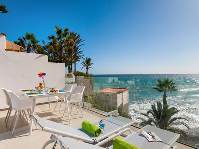 Photo for Bungalow Playa del Aguila II over the sea