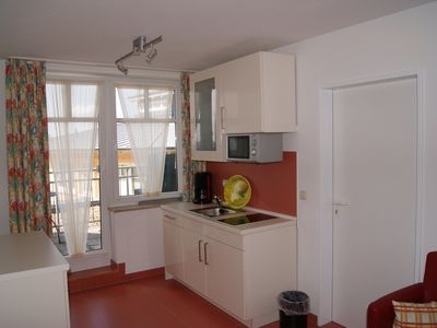 Photo for Chic, renovated apartment in the midst of Resort Rügen, large balcony m. Boddenblick