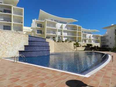 Photo for T1 Sea View Condominium with pool and garden Encosta Orada Albufeira