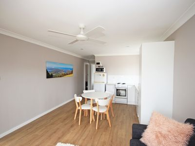 Photo for Renovated unit close to river, beach and cafe's
