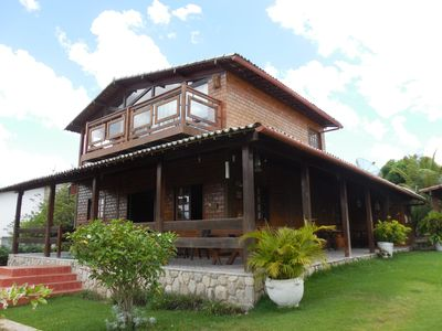 Photo for HOLY WEEK IN GRAVATÁ-EXCELLENT HOUSE - COND FECH-5 QTOS-SKY