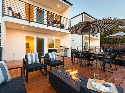 Photo for Mins to Gaslamp, Seaworld & Airport | Outdoor Deck w/ BBQ & Beautiful Deck by AvantStay