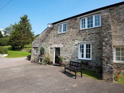 Photo for In 17 acres of beautiful countryside north of Fowey with fishing on site.