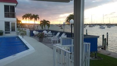 Photo for Harbor Waterfront View!! Newly Remodeled Keys Paradise with Private Boatslip