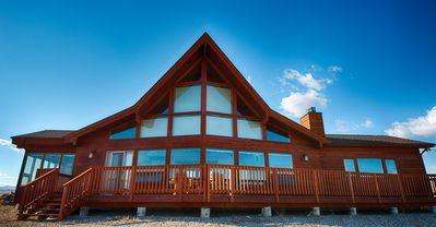 Photo for Rustic, Elegant Mountain Residence Close To The Best Fly Fishing In Montana.