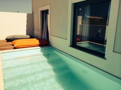 Photo for Villa V3 Meow, swimming pool, 400 meters from the beaches, in the heart of Sagres, free WiFi