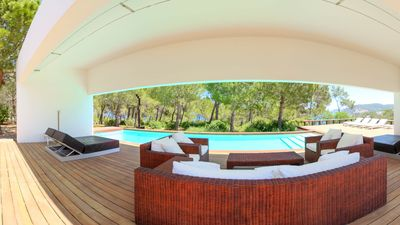 Photo for Cutting edge designer villa next to the sea with a large 90.000 m2 plot of land.