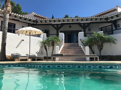 Photo for Exclusive private dream villa Finca holiday house with pool, Berg.-, sea view and many more.
