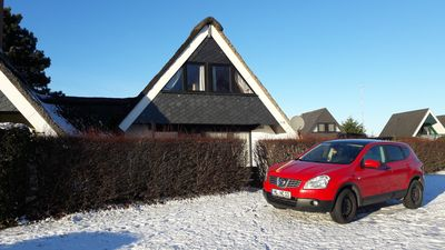 Photo for Quiet location, renovated, thatched roof, garden, sea view, beach, Baltic Sea, family