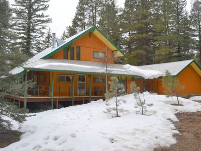 Photo for River Side Mountain Refuge On Vallecito River - Sleeps 9