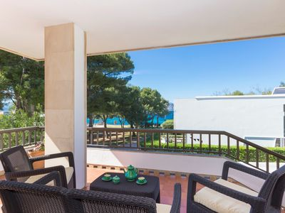 Photo for Francesca villa with sea views and access to the beach 214