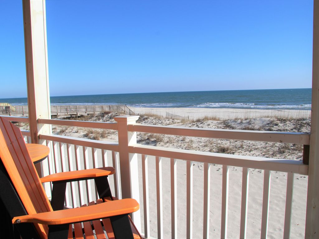 Blessings on the Beach - Beachfront Home - sleeps 20